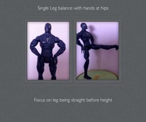 1 leg balance